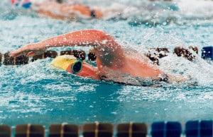 swimmer swimming