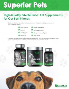 private label pet line
