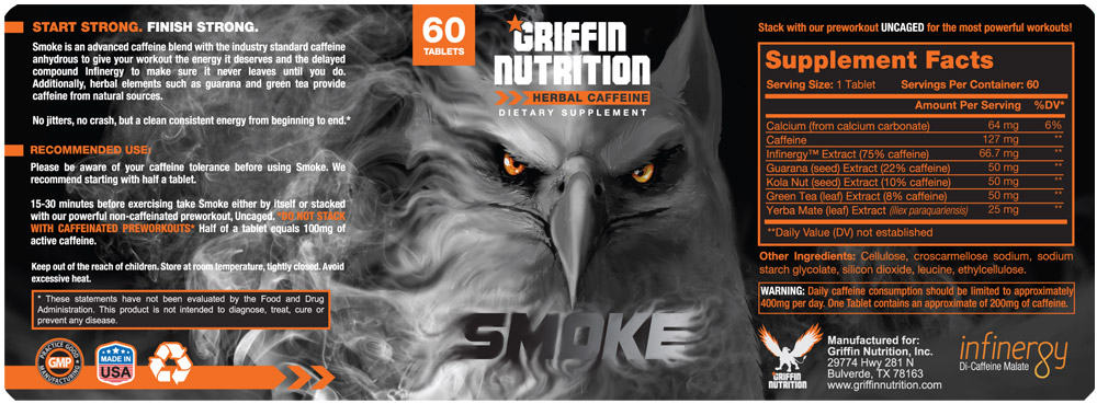 Label Design Griffin Nutrition