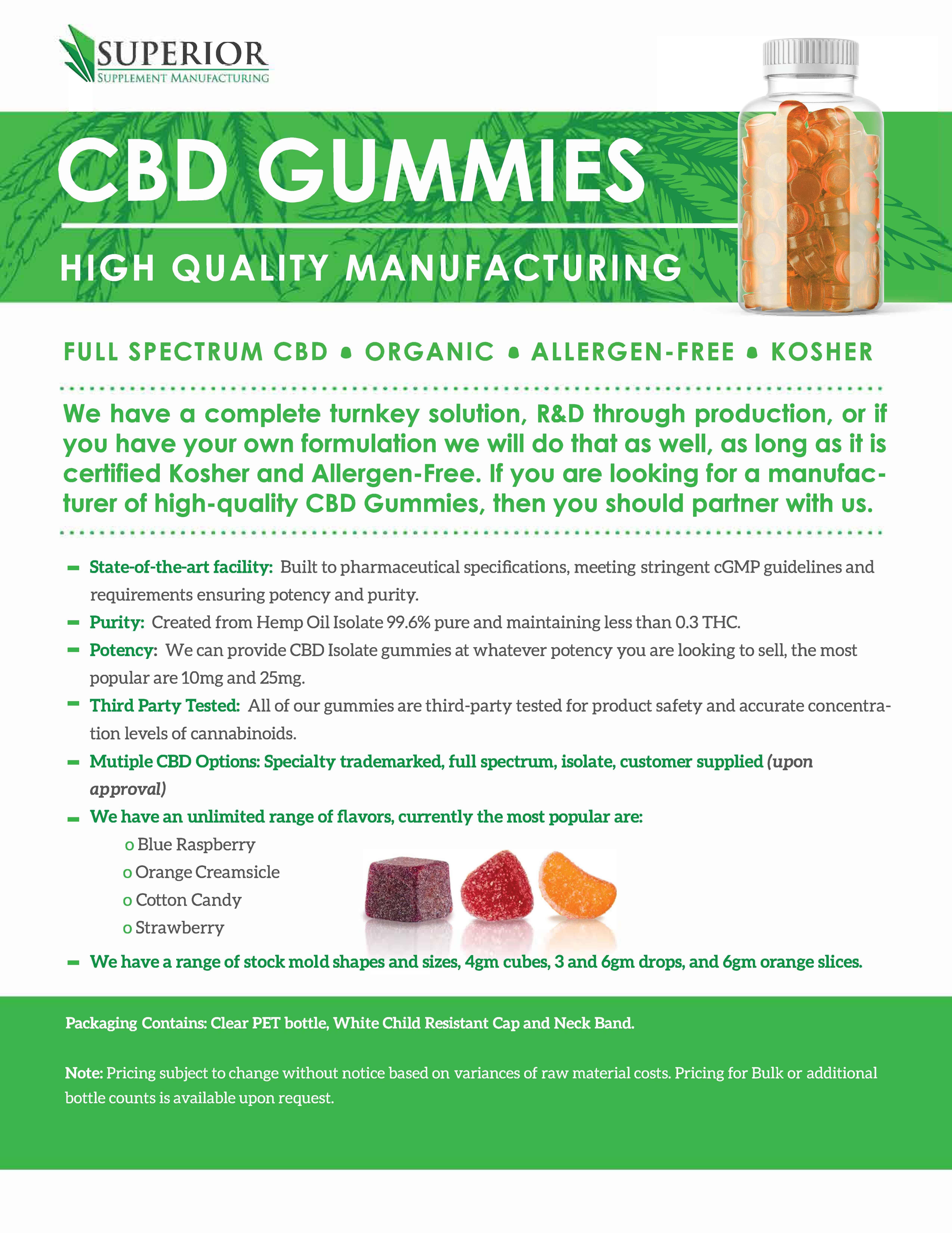 cbd gummy private label - SSMFG - #1 Vitamin Supplement ...