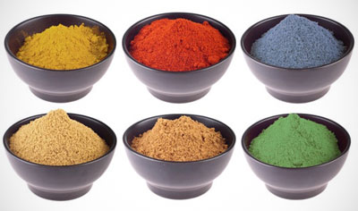 custom formulations ingredients in a bowl superior supplement manufacturing