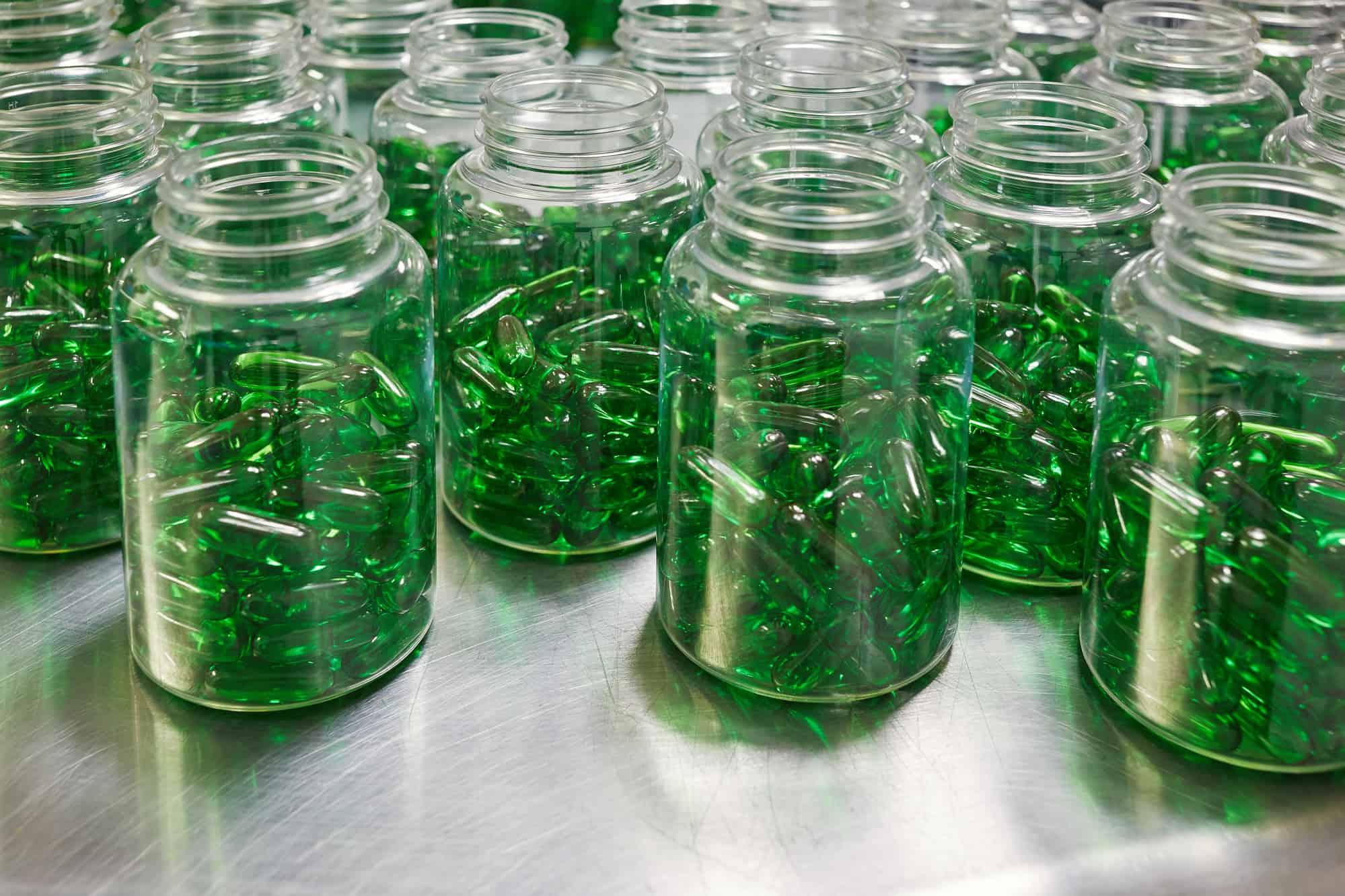 softgel manufacturer green capsules