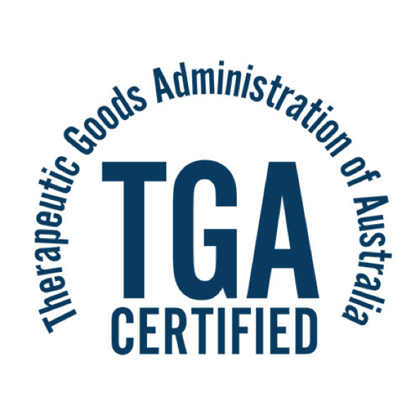 TGA Certified Manufacturer
